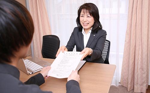 女性税理士によるきめ細かな対応